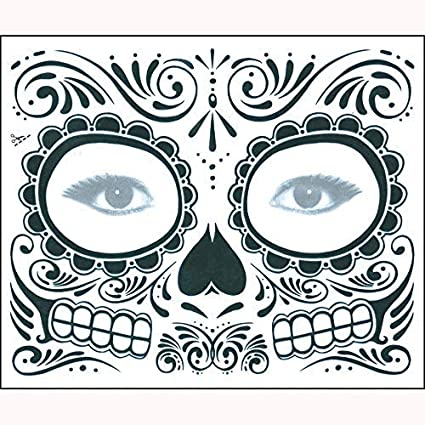 6ed8d1562 MatureGirl Hollaween Horror Decorative Mask Day of The Dead Dia de Los  Muertos Face Mask Sugar