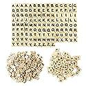 200個の木製スクラブルタイル、完全なセットアルファベットおもちゃブロック工芸ペンダントのスペルのレターゲームの商品画像