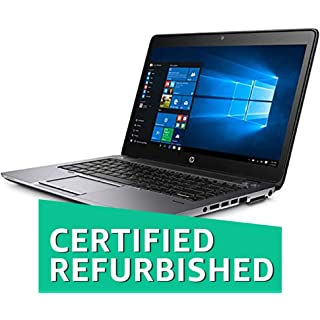(Certified REFURBISHED) HP Probook 840G2-i5-4 GB-1 TB 14-inch Laptop (5th Gen Core i5/4GB/1TB/Windows 10/Integrated Graphics), Black Laptops at amazon