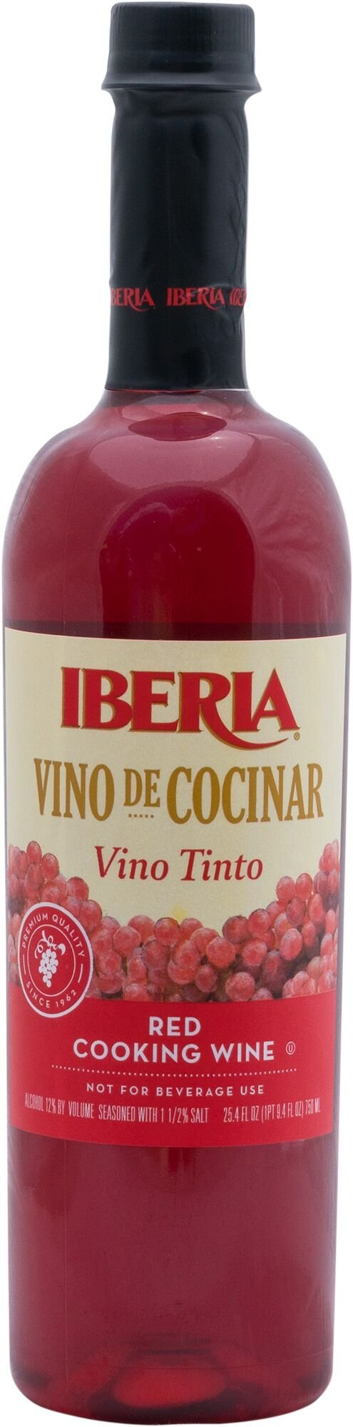 Iberia Red Cooking Wine, 25.4 Ounce (Pack of 12)