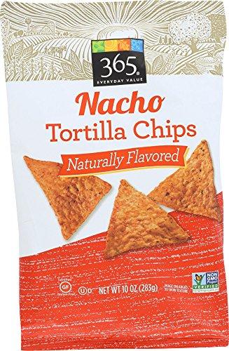 365 Everyday Value Nacho Tortilla Chips, 10 - Nacho Chips Cheese