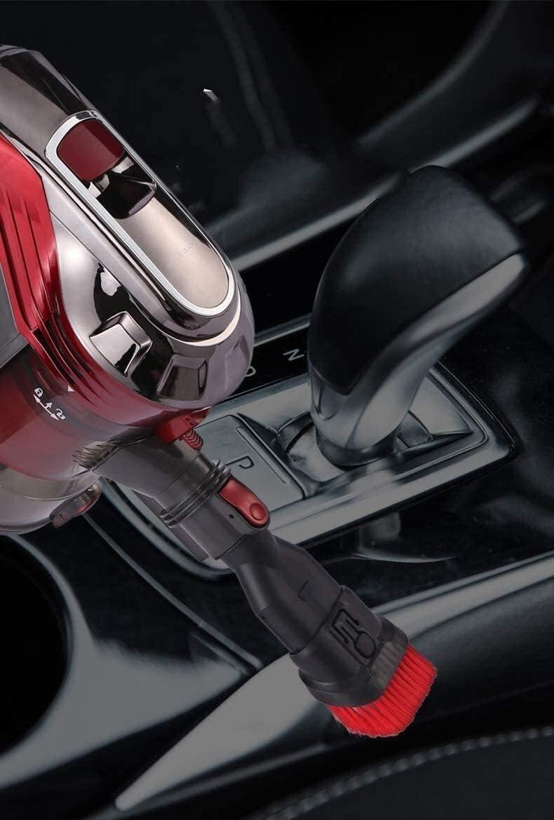 LIUCHANG Ultra Quiet Mini Accueil Rod Aspirateur Portable collecteur de poussière Accueil Aspirateur à Main Aspirateur Rouge (Couleur: Rouge) liuchang20 (Color : Red) Red