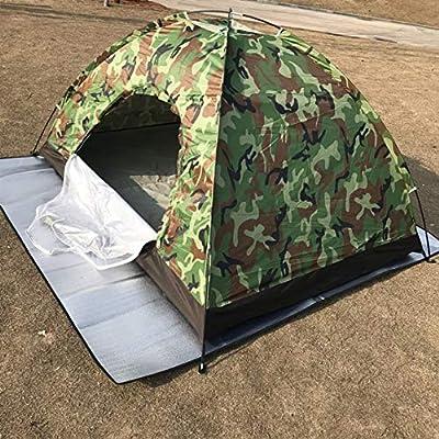 Alomejor Camping Zelt Travelite Backpacking Leichte Familie Kuppelzelt mit Bel/üftung und Abdeckung f/ür Outdoor Camping
