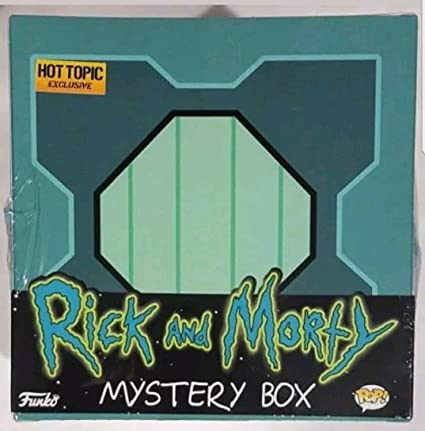 Amazon.com: Funko POP Rick y Morty Misterio Caja Young Rick ...