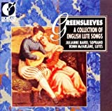 greensleeves: collection of english lute songs; julianne baird / ronn mcfarlane,audio cd; 1989 dorian recordings / BMG; julianne baird, soprano & ronn mcfarlane, lutes; 25 tracks, total playing time 68:03; disc, inserts, case all in perfect condition!