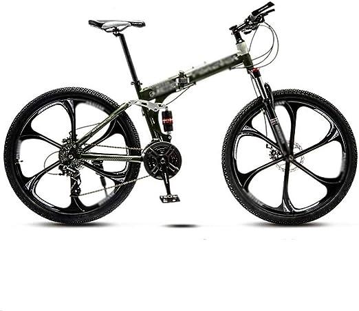 Montaña bicicleta plegable hombres y mujeres, de 24 pulgadas de ...
