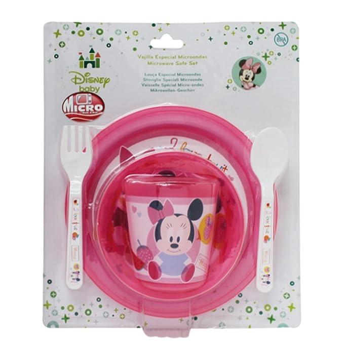 Winnie The Pooh - Set Microondas Basic 5 Piezas Disney Baby Minnie ...