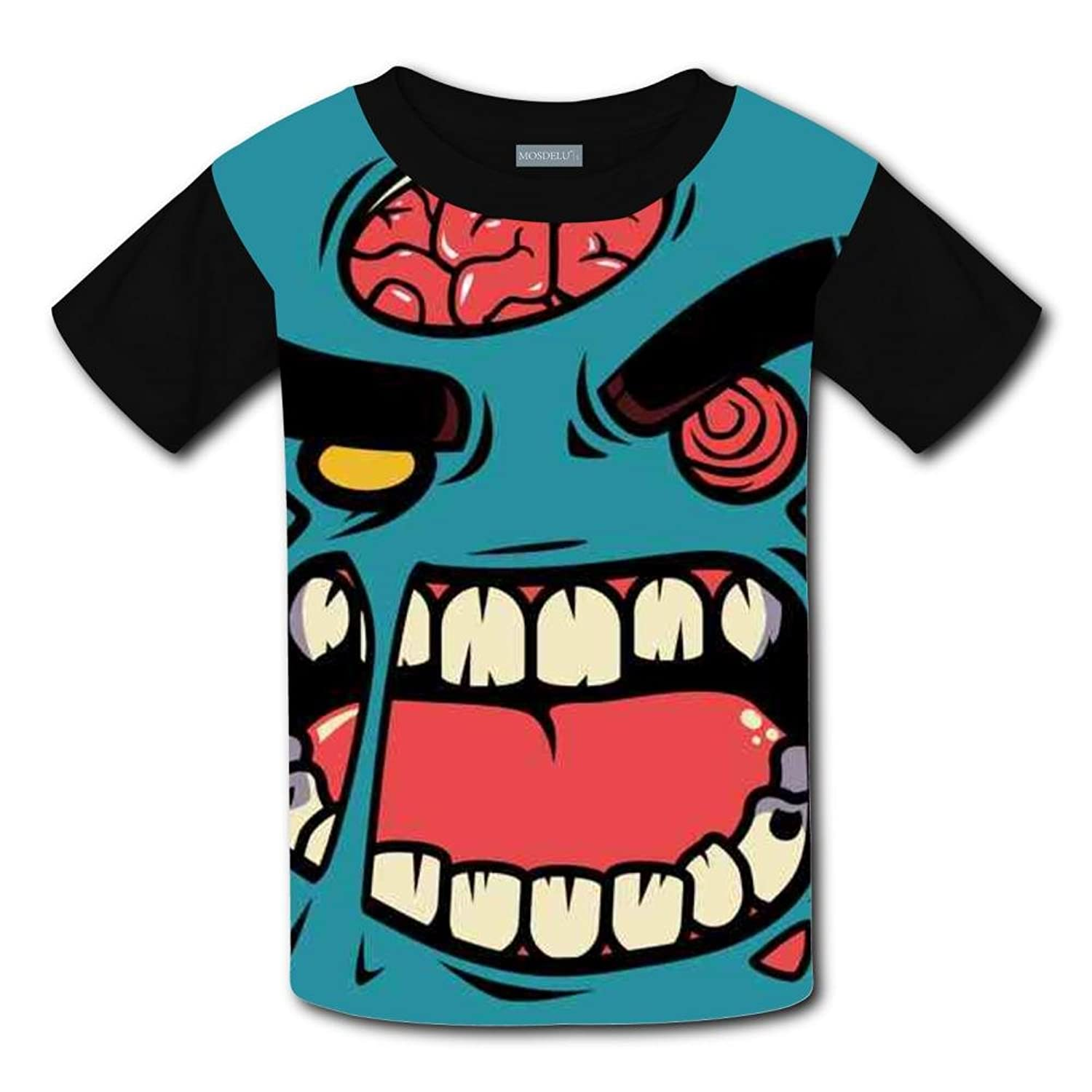 Discount Angry Zombie Light Weight Short Sleeve 2017 The Latest Version For girlsfree Postage hot sale