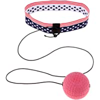 Prettyia Boxing Reflex Ball with Headband for Unisex Adult & Kids Reaction, Agility, Punching Speed, Fight Skill and Hand Eye Coordination Training Exercise