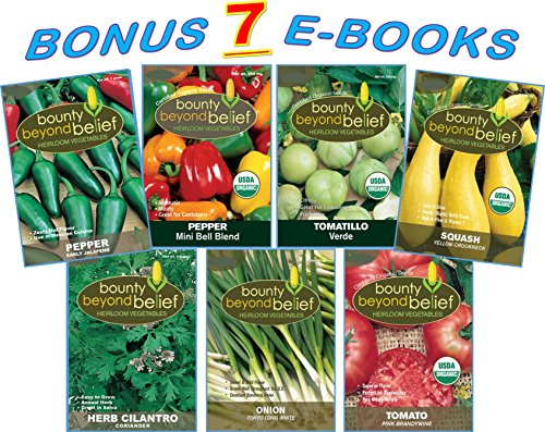 tex-mex-vegetable-garden-seed-mix-7-bonus-gardening-ebooks-salsa-mix-organic-heirloom-pepper-tomatil