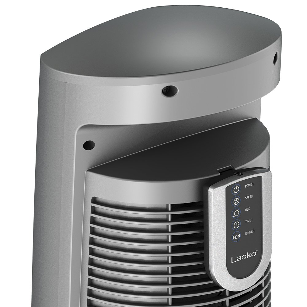 Amazon lasko 2551 wind curve tower fan with remote control and amazon lasko 2551 wind curve tower fan with remote control and fresh air ionizer silver home kitchen publicscrutiny Image collections