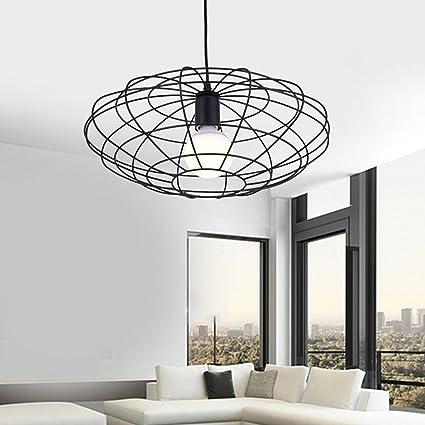 Schön-Lampe Modern Industrial Loft – Lámpara de Techo Iluminación Interior Lámpara de Techo para salón Comedor Balcón Cocina E27 ø39 cm 220 V ...
