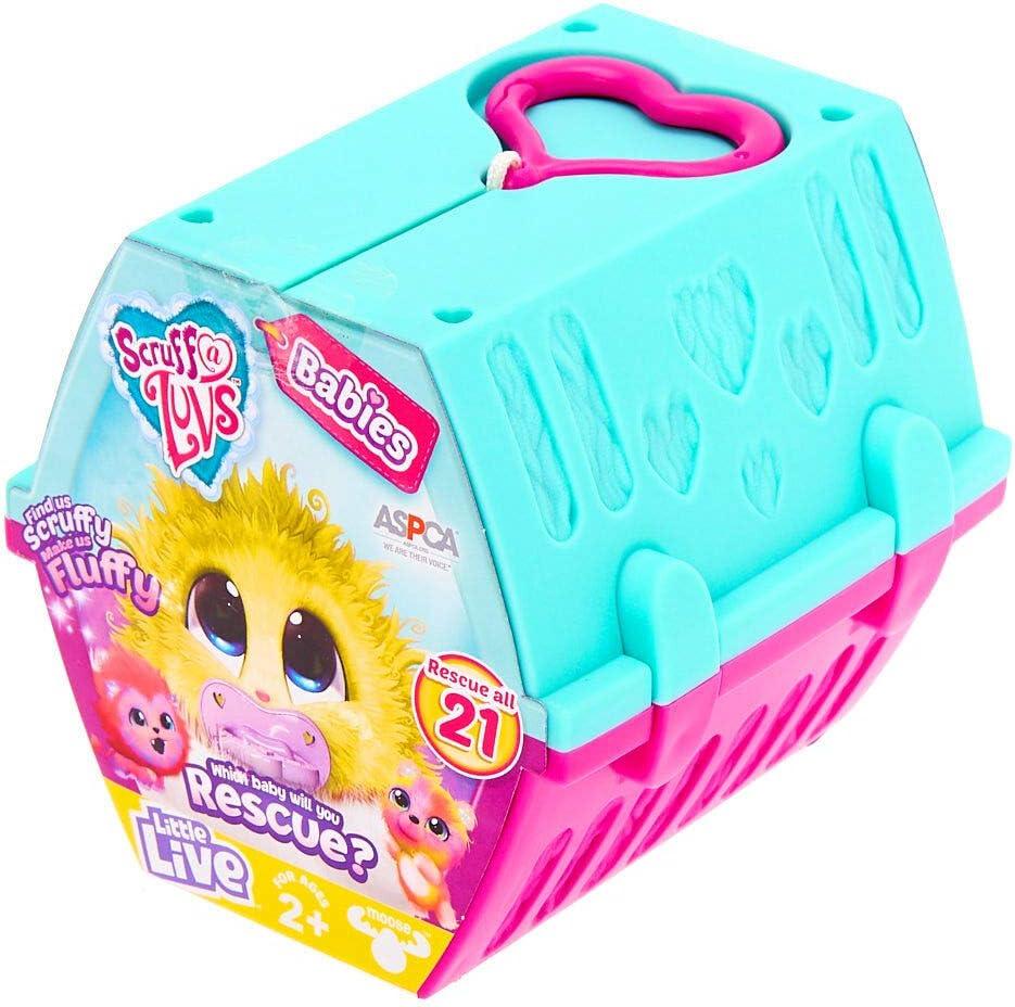 Claire's Scruff a Luvs Girl's Little Live Pets Scruff-a-Luvs Babies Surprise Plush Toy