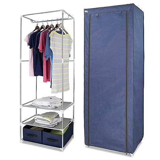 Camping-möbel Kleiderschrank Campingschrank Textilschrank Stoffkleiderschrank Faltschrank