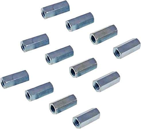 Nut Reducer 3//4-10 to 5//8-11 x 1-1//2 Long Coupling Reducer Nut Reducer Hex Coupling Nuts with Zinc Plate