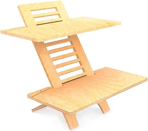 Jumbo DeskStand Standing Desk Height Adjustable Sit-Stand Desk Converter