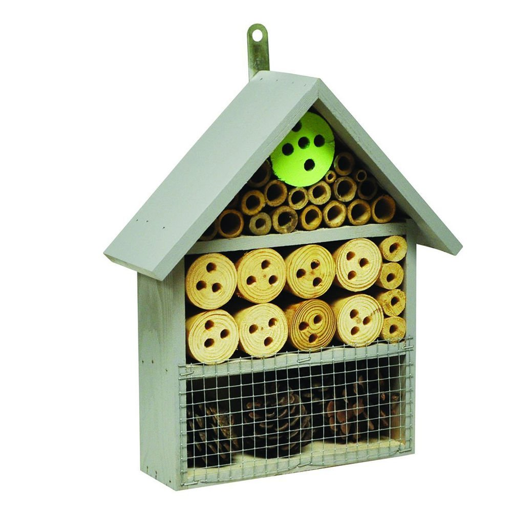 Natures Market HOTEL5 Insect Hotel, Transparent, 9.00 x 25.50 x 32.50 cm Kingfisher
