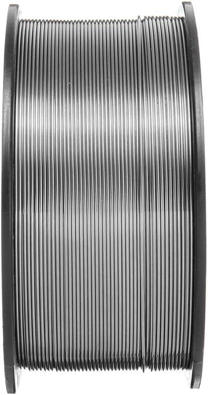 E71T-11 Mig gaz de Soudure Exempt de sans Soudure Fil Soud/é Fillet c/âble fourr/é Soudeur Outil Bodbii 1KG 0.9mm 0-9-E71T-GS