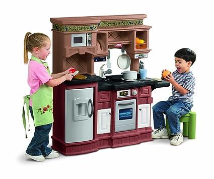 amazon com little tikes gourmet prep n serve kitchen toys games rh amazon com
