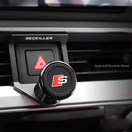 on sale 8c1b5 f1e79 Air Vent Car Phone Holder, Muswanna Magnetic Universal 360° Rotation ...