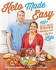 Everything can be made keto! That's the message that food bloggers Matt Gaedke and Megha Barot want to deliver with their new book, Keto Made Easy. No more missing out on classics or favorite dishes, no more added costs with exotic new ingred...