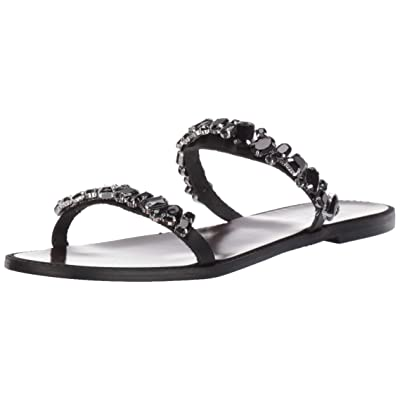 Badgley Mischka Women's Loveday Flat Sandal: Shoes