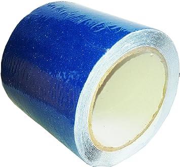 "Anti slip tape 2/"" roll Blue grit flooring adhesive Safety grip safe non skid"