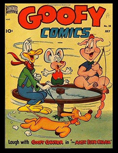 Read Online Goofy Comics #38: Golden Age Anthropomorphic-Funny Animal Comic 1950 pdf epub