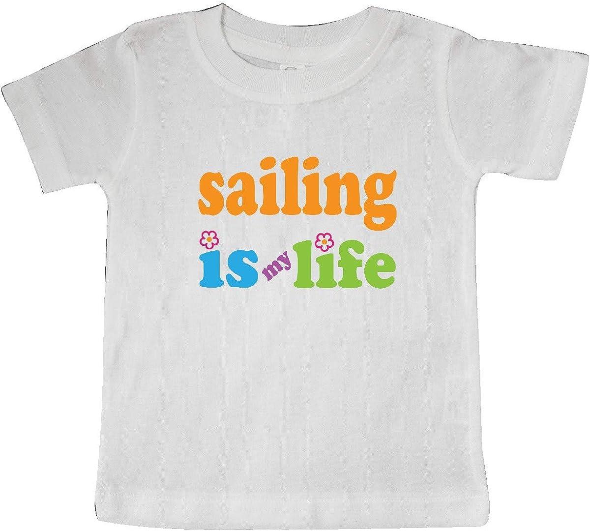 inktastic Sailing Gift Sailing is My Life Baby T-Shirt