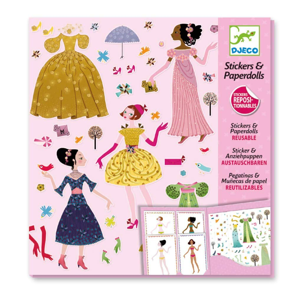 Dresses through the Seasons Paper Dolls by Papo