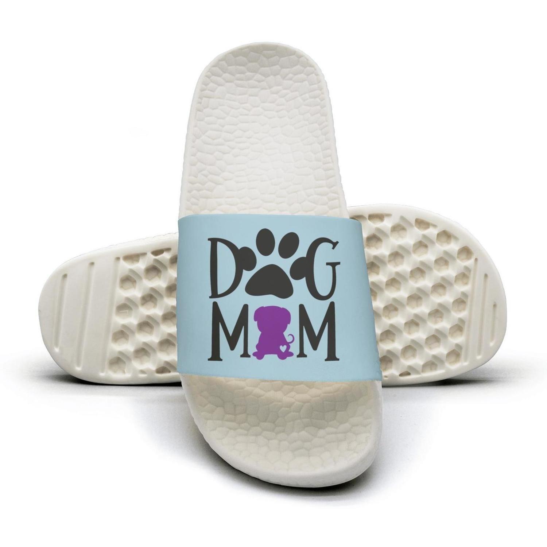Dog Mom Pug Dog flip flops Slippers for Men