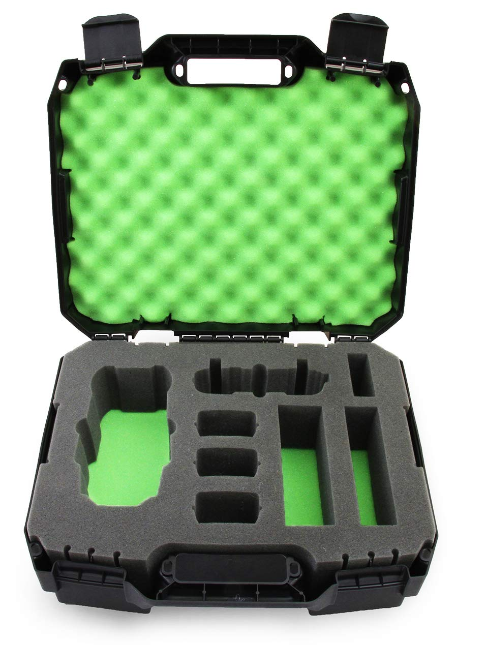 CASEMATIX Rugged Hard Case Compatible with DJI Mavic Pro 2 Drone/DJI Mavic 2 Zoom and Accessories - 2018 Green (Includes CASE ONLY)