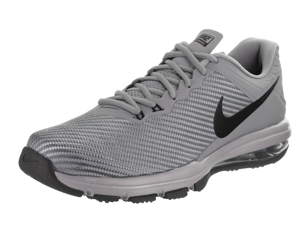 185ebe2cda Galleon - Nike Mens AIR MAX Full Ride TR 1.5 Grey Black Stealth Anthracite  Size 9