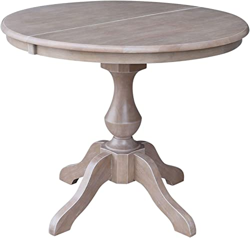 International Concepts 36 Round Top Pedestal Table