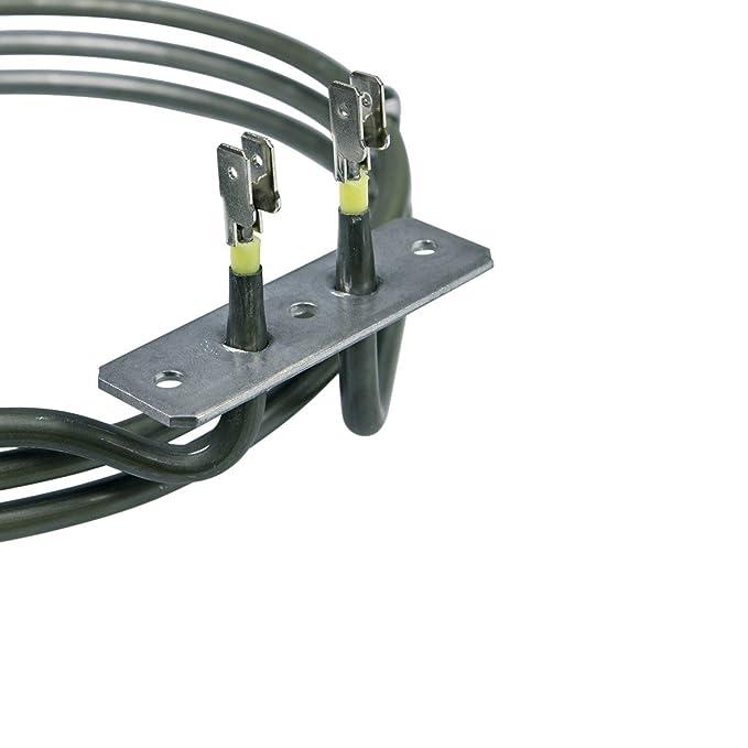 Heizung Backofen Ringheizung Heißluftheizung 2000W für Smeg Bosch Siemens Balay