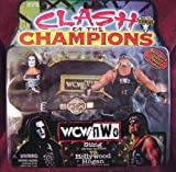 Clash Of the Champions Sting VS. Hollywood Hulk Hogan 2 Pack Action Figure Set