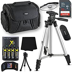 Professional Accessory Kit For Nikon Coolpix B500, L330, L340, L100, L110, L120, L310, L810, L820, L620, L830, L840, Kit Includes 10 Compact Photography Accessories