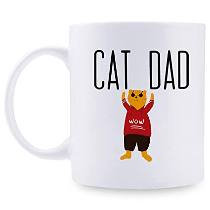 Father/'s Day Gift Cat Dad Cat Mug Coffee Mug Perfect Gift To Cat Dad