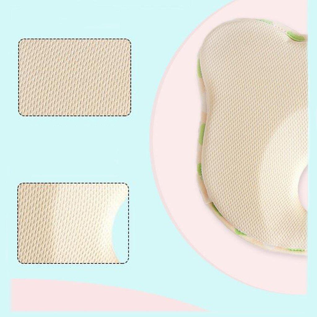 oreiller nouveau-n/é lavable doux et respirable White T/ête de b/éb/é nouveau-n/é formant loreiller de b/éb/é pour le plagioc/éphalie /Évitez la t/ête plate du nouveau-n/é