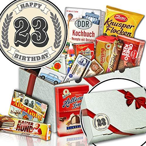 Geschenke zum 23. Geburtstag - Nervennahrung Büro - Geschenk Idee 23. Geburtstag