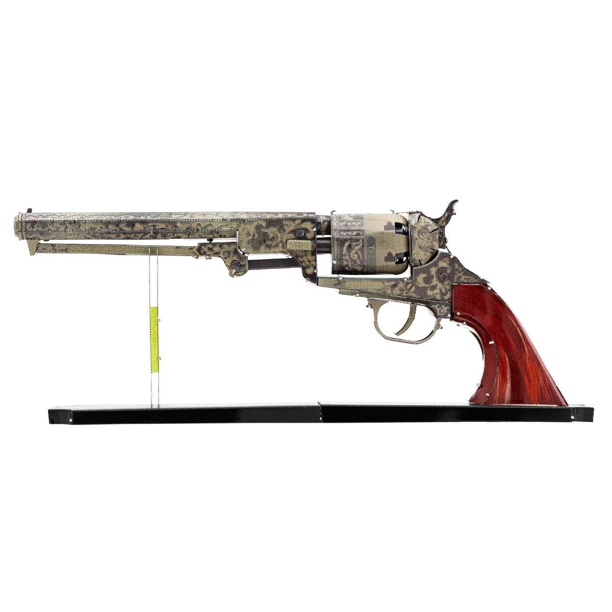 Fascinations Metal Earth Wild West Revolver 3D Metal Model Kit