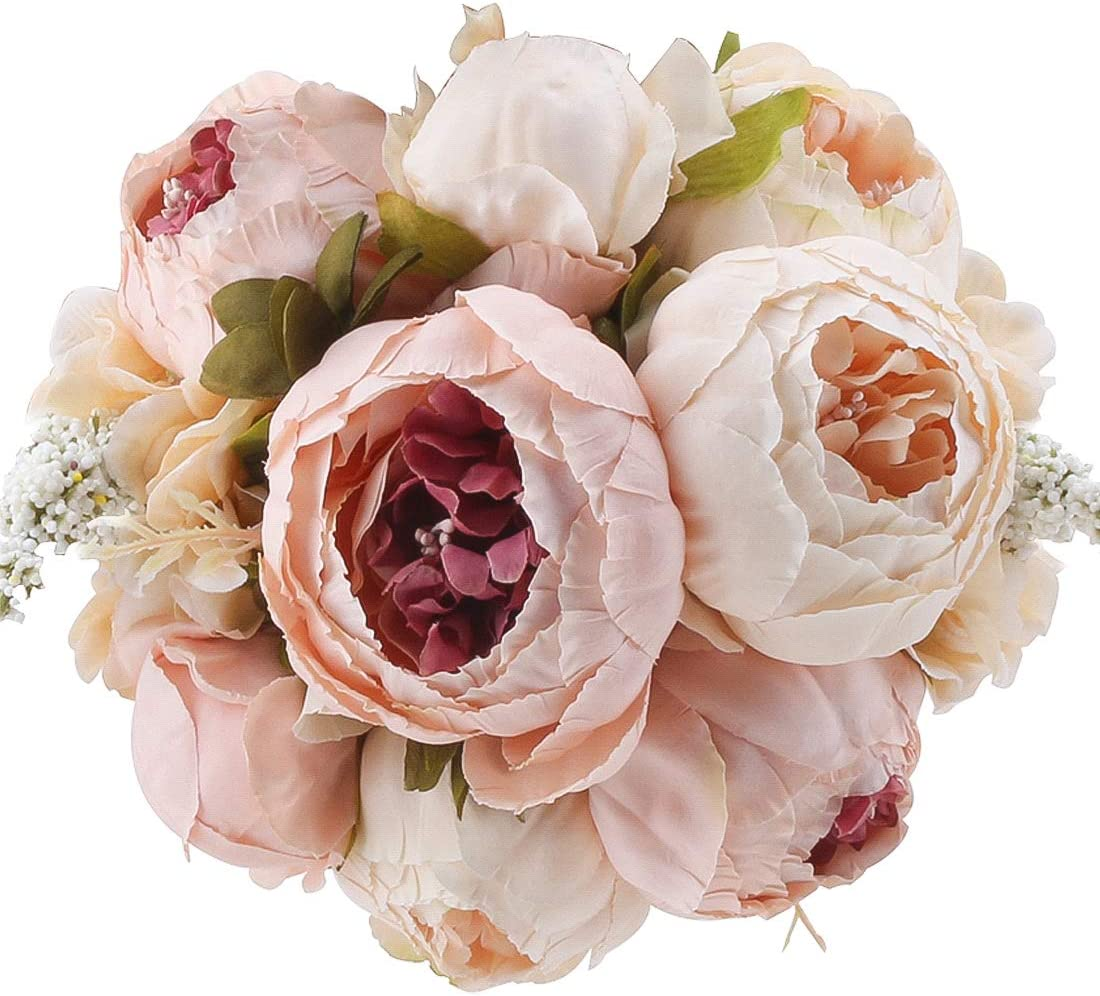 10pcs 40cm Fake Bud Artificial Branches Flower 8 Colors Accessory Wedding Party