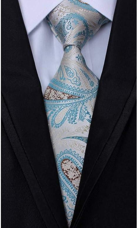 WOXHY Corbata Hombres de los Hombres de Paisley Empate Encargo de ...