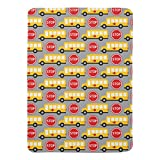 Zazzle School Bus and Stop Sign Swaddle Blanket