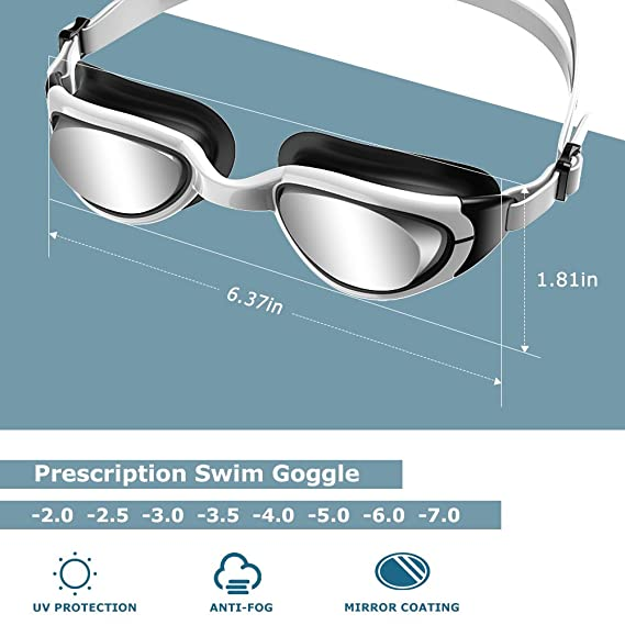 8be1279495 RX Prescription Swim Goggles