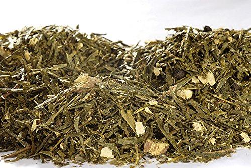 propiedades del te verde con limon y jengibre