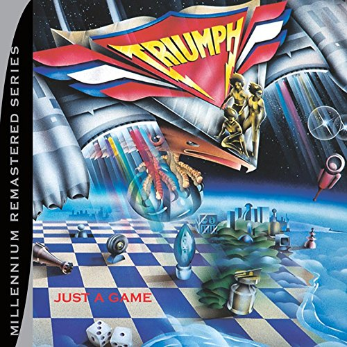 CD : Triumph - Just a Game (Remastered)