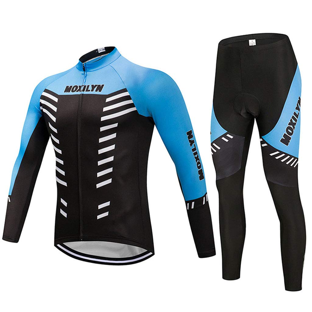 Lilongjiao Winter Jersey Anzüge Mountainbike Langärmelige Jersey Männer Und Frauen Sportswear Fahrradbekleidung
