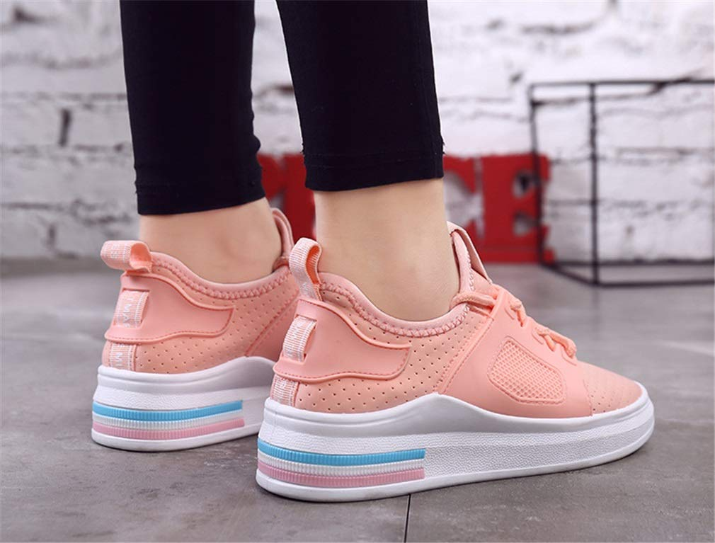 Exing Damenschuhe Breathable Flat Heel Turnschuhe Akademie Schuhe Schuhe Schuhe Lace-Up Anti-Rutsch-Wanderschuhe B07GNFHQTK Tennisschuhe Menschliche Grenze 92b8d4