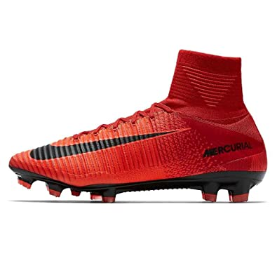 c2217cc89ee ... new style nike mens mercurial superfly v fg cleats university red black  size 13 3c727 4fca3